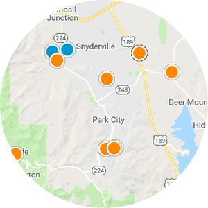 Sun Peak & Bear Hollow Real Estate Map Search
