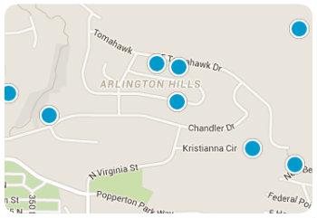 arlington Hills Map
