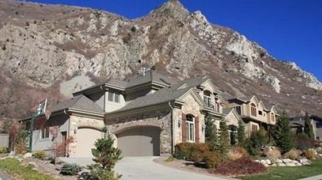 Glacio Park neighborhood Sandy Utah