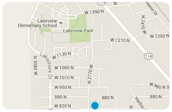 Lakeview Elem Homes Map