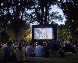 Outdoor Movies and liberty Park