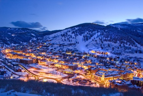 Park City at night, Park City Real Estate