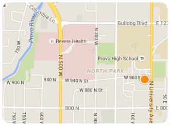 Provo High Homes Map