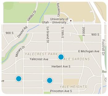 University area Map