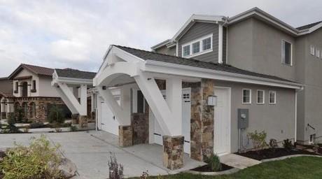 Vialetto homes in Lehi Utah