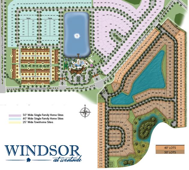 windsor at westside model