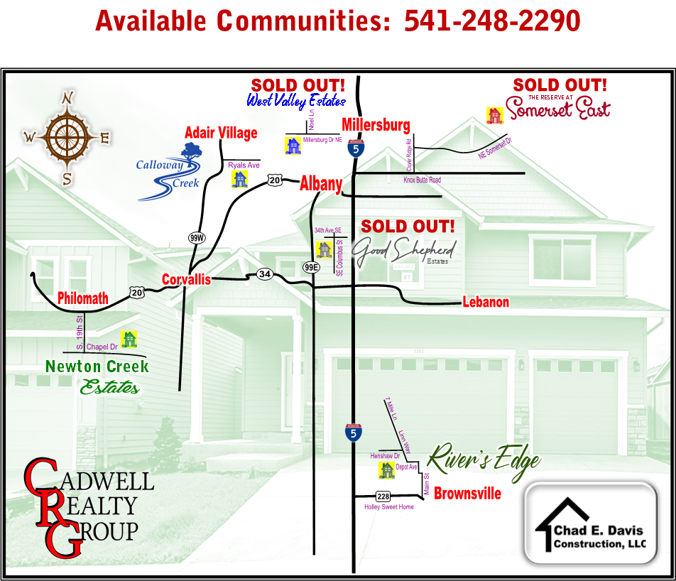 Available Communities built by Chad Davis