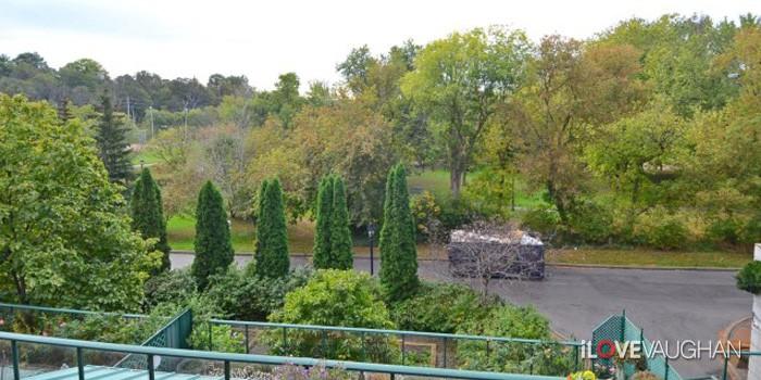 Ravine views from Balcony