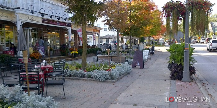 Kleinburg Village on Islington