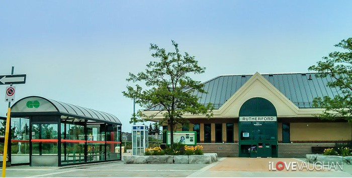 Rutherford GO Station in Concord