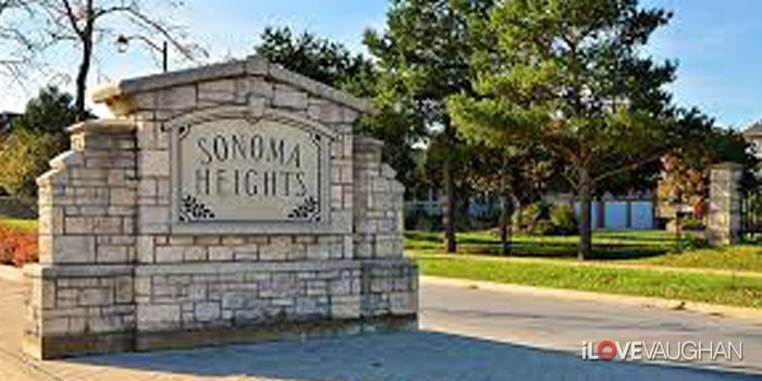 Sonoma Heights Entrance