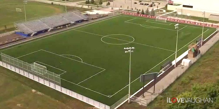 Ontario Soccer Centre in Vaughan
