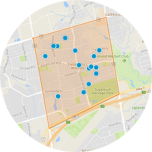 Thornhill Woods Real Estate Map Search