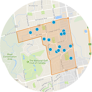 Weston Downs Real Estate Map Search