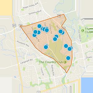Woodbridge Highlands & Islington Woods Real Estate Map Search