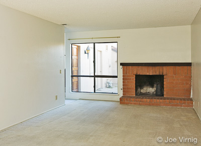 Home in need of staging