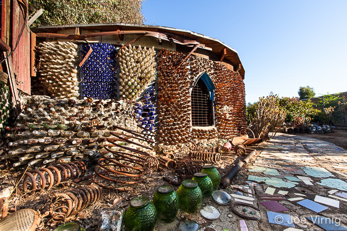 Round House at Grandma Prisbrey's Bottle Village