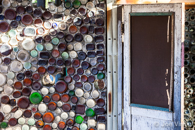 Doorway at Grandma Prisbrey's Bottle Village