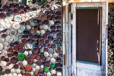 Doorway at Grandma Prisbrey's Bottle Village