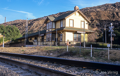 Santa Susana Train Depot in Simi Valley