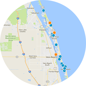 Beach Central Real Estate Map Search