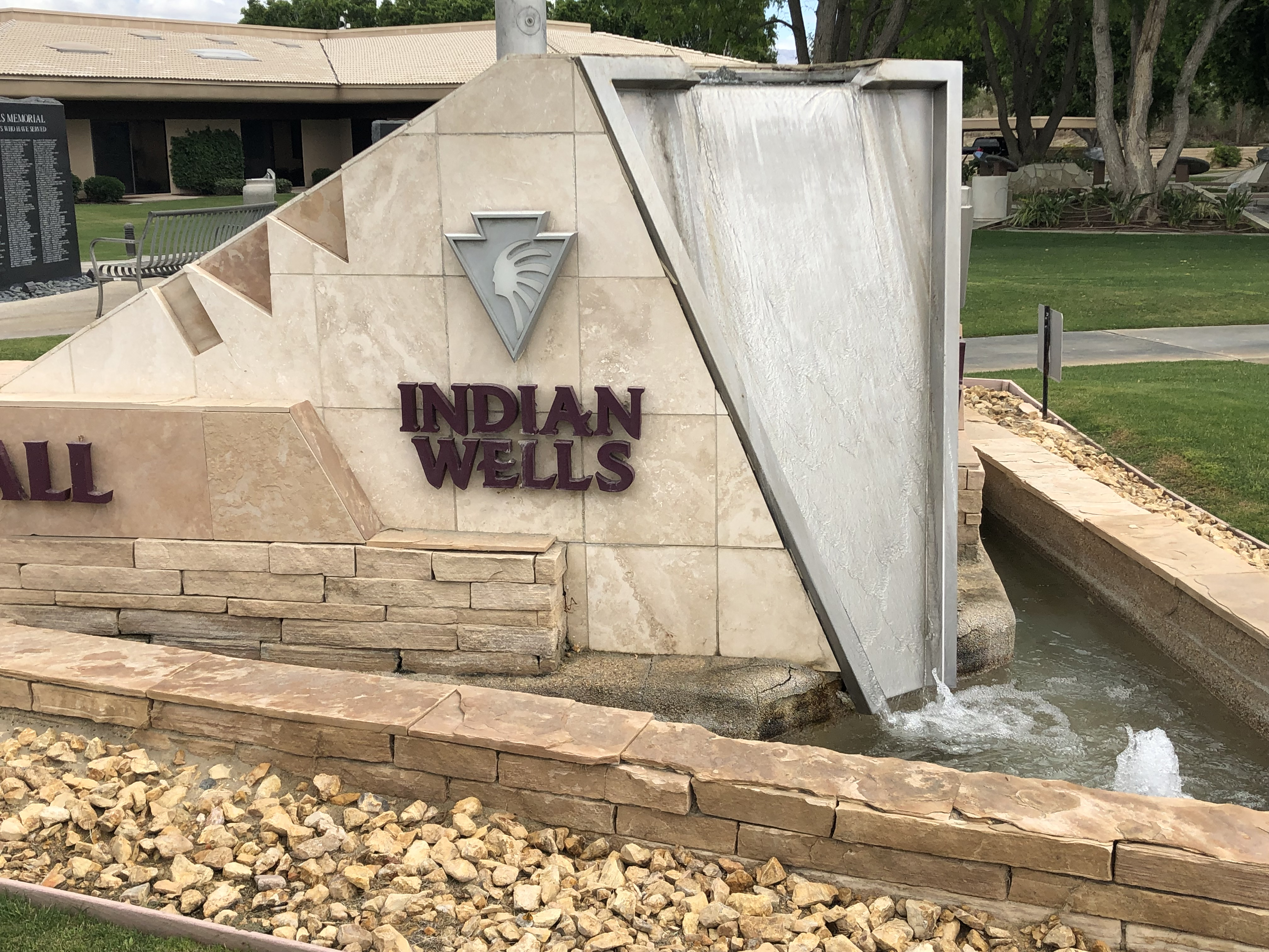 Indian Wells Sign