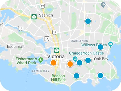Victoria Real Estate Map Search