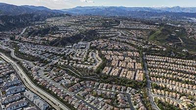 stevenson ranch aerial view