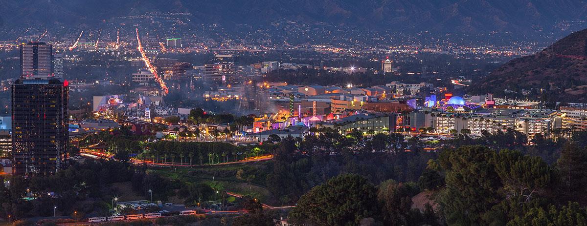 studio city panoramic view