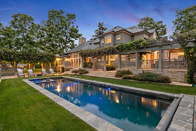 toluca lake home with pool