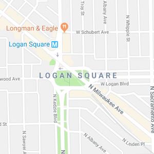 Logan Square Map Search