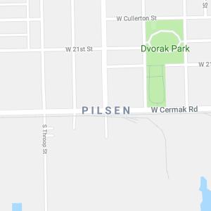 Pilsen Map Search