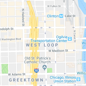West Loop Map Search