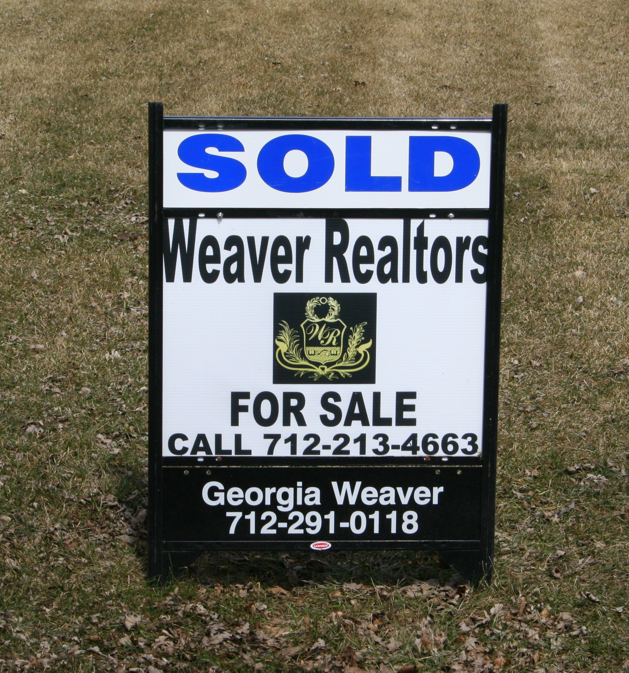 Sold by Weaver Realtors call Today