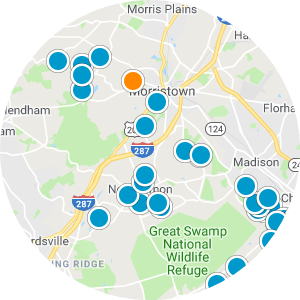 Franklin Lakes Real Estate Map Search