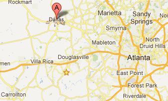 Dallas Homes For Sale Dallas Real Estate - Georgia map douglasville