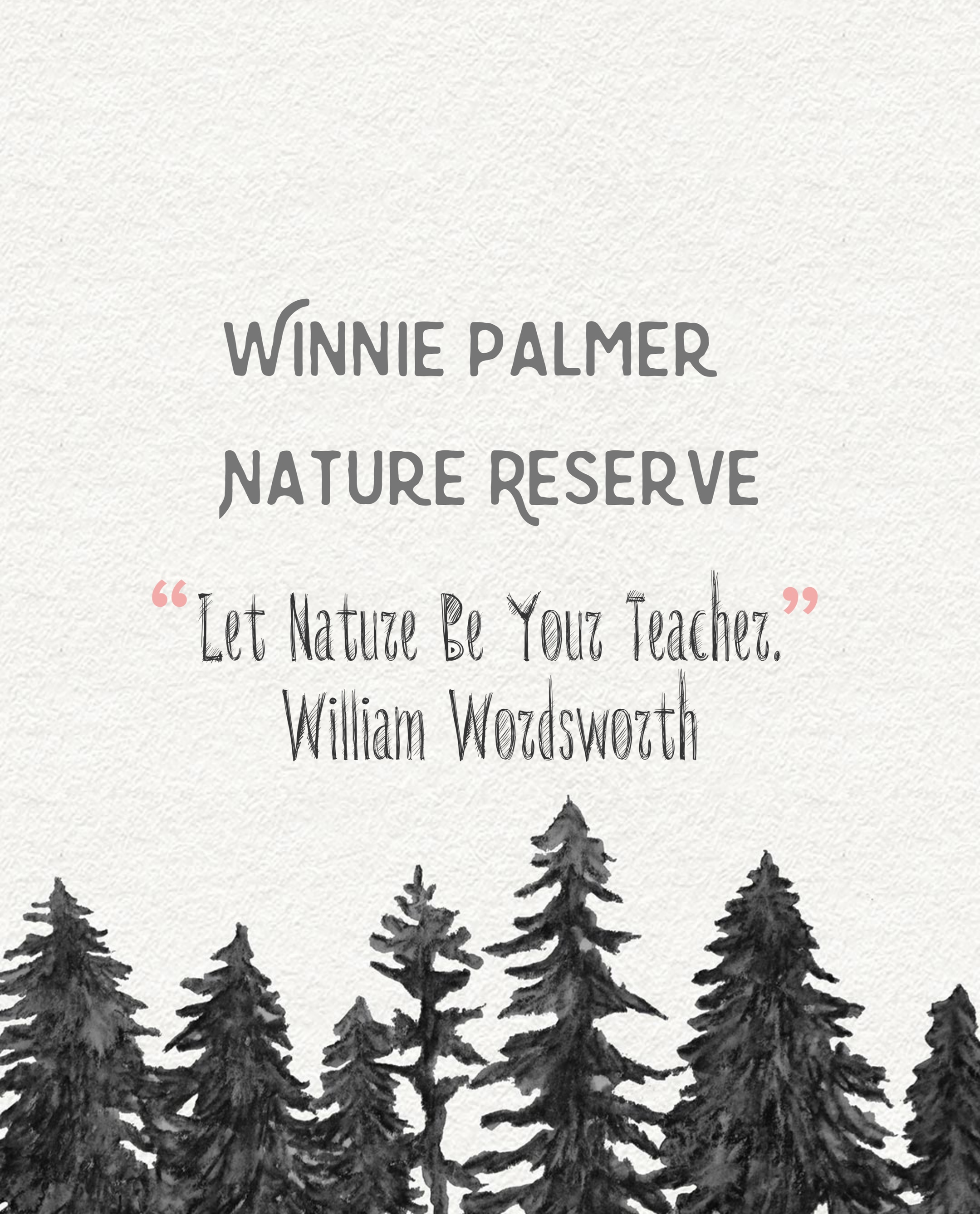 winne palmer nature reserve