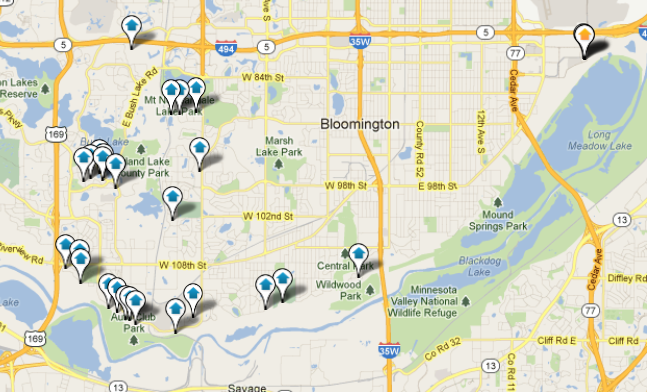 Bloomington Real Estate Search