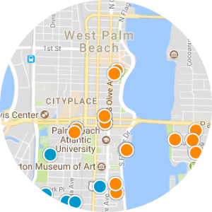 North Palm Beach Real Estate Map Search