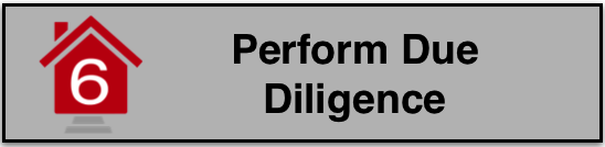 Video Step 6: Perform Due Diligence West Real Estate Group