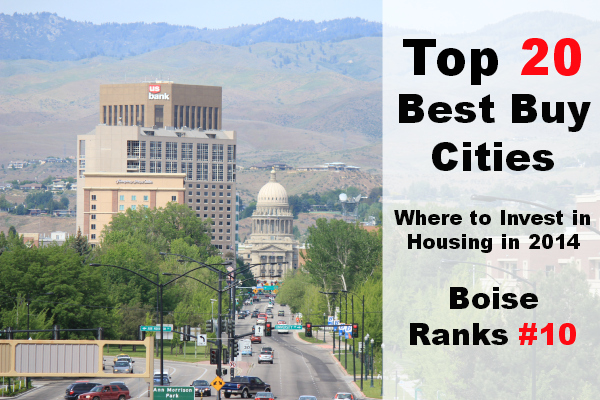 Boise Listed as a Top City for Housing in 2014