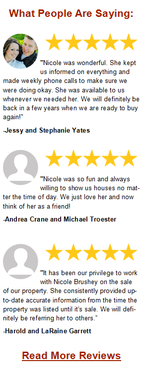 Client Reviews about Nicole Brushey