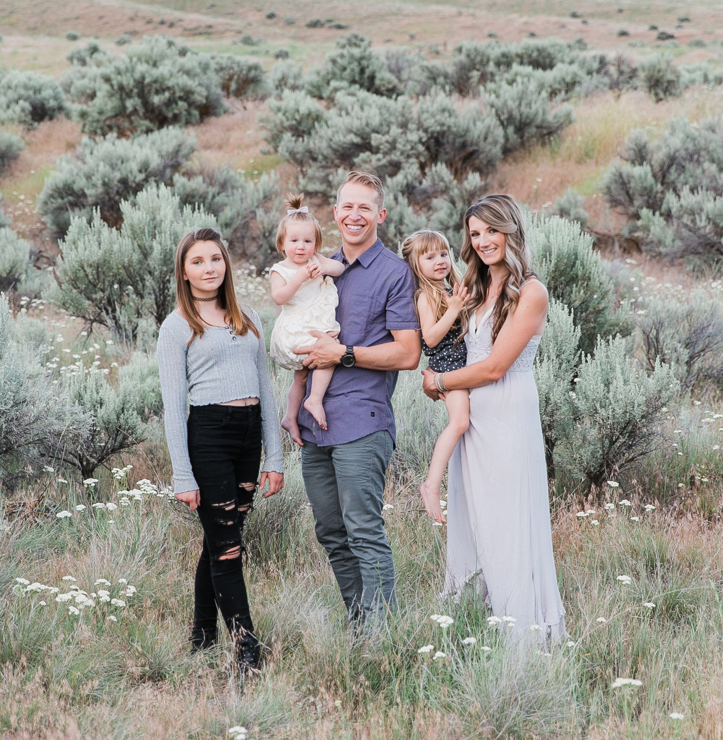 John and Victoria West Family - West Real Estate Group 2020