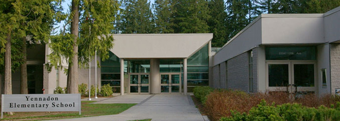 Yennadon Elementary School Maple Ridge BC