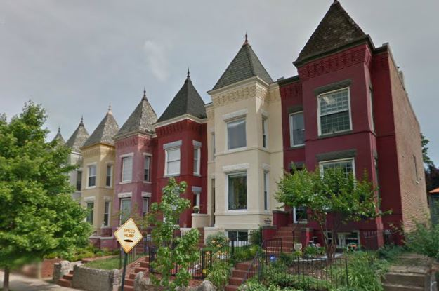 Homes in northeast Washington DC