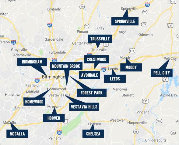 Explore Birmingham Real Estate