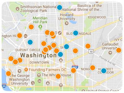 DC Metro Real Estate Map Search