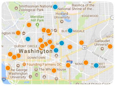 DC Metro Real Estate Map Search