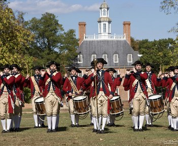 Drum and Fife, Williamsburg Virginia Activities