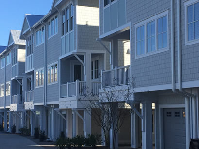 Spartina townhomes in Wilmington, NC